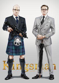 「Kingsman Logs 3」/「JaneMere」の漫画 [pixiv]