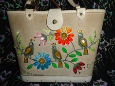 Collins of Texas purse Birds Of A Feather Enid by BonitasCloset, $35.00