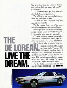 1982 DeLorean Ad (DeLorean Motor Co.), Pg. 2 | Flickr - Photo Sharing!