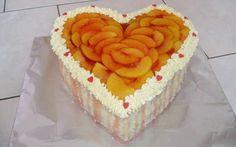 Jahodové srdce k Valentýnu » Pečení je radost