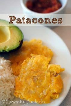 Sweet y Salado: Patacones