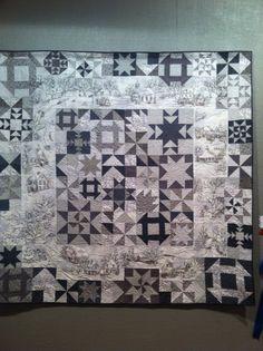 Crabapple Hill- doing mine in grey Sampler Quilts, Star Quilts, Quilt Blocks, Crabapple Hill, Charm Quilt, Embroidered Quilts, Winter Quilts, Grey Quilt, Flying Geese