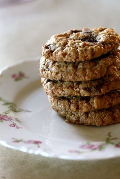 Oatmeal Pecan Chocolate Chip Cookies. This has become my go to Chocolate Chip Cookie recipe.