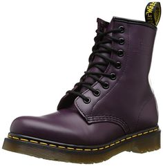 Dr. Martens 1460, Boots mixte adulte - Violet (Purple Smooth), 39 EU (6 UK) Dr. Martens http://www.amazon.fr/dp/B000W80R6M/ref=cm_sw_r_pi_dp_V8A.ub1TX390X