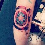 Mighty Shield Tattoo