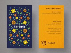 Florbank - Business cards