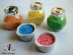 Come colorare ed aromatizzare lo zucchero a velo | Miei dolci da sogno