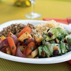 Month of Meatless Recipes- great for planning meatless Mondays.