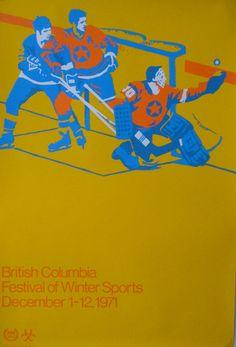 1971 British Columbia Winter Sports Festival — Designer Unknown
