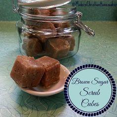 Brown Sugar Scrub Cubes