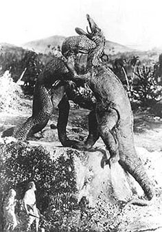 The Lost World (1925 silent film, featuring famous stop-motion dinosaur animation)