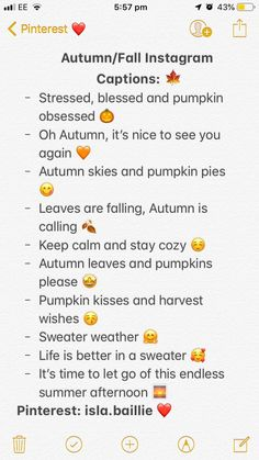 These captions are perfect for getting you all through fall/autumn. Cute Insta Captions, Instagram Captions For Friends, Selfie Captions, Cool Captions, Captions For Pictures, Instagram Captions Boyfriend, Instagram Picture Quotes, Foto Instagram, Fall Quotes For Instagram