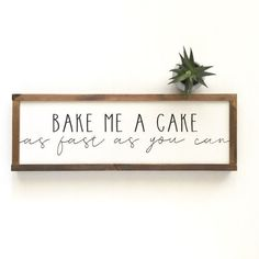 Painting Canvas Diy Quotes Products 37 Ideas For 2019 Home Decor Signs, Easy Home Decor, Handmade Home Decor, Kitchen Decor Signs, Kitchen Sign Ideas, Signs For Home, Home Decor Quotes, Farmhouse Side Table, Country Farmhouse Decor