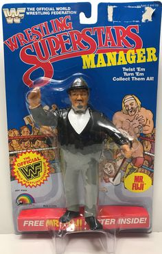 Weird Toys, Cool Toys, Mr Fuji, Wwf Toys, Childhood Toys, Childhood Memories, 1980s Kids, Wwe Action Figures, Modern Toys