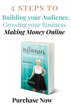 Discover how to make money online sharing what you love through influencer marketing in Influencer Entrepreneur. Learn influencer marketing strategy for growing your business. Gain influencer marketing tips on building your audience with social media marketing for your influencer platform, how to grow your blog, and influencer marketing branding. Build your Audience, Grow your Biz, Make Money. Get $5 off your first Kobo Ebook Purchase here. #pinterestmarketing #socialmedia #influencer…