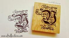 Sello logo Creaciones Victoria