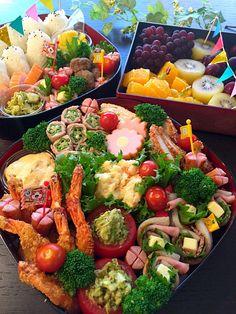 みな's dish photo 運動会のお弁当 akikoさんの料理 ささ身とアボカドの粒マスタード http://snapdish.co #SnapDish #レシピ #お弁当 #お昼ご飯 #運動会 #ハンバーグ #フルーツ