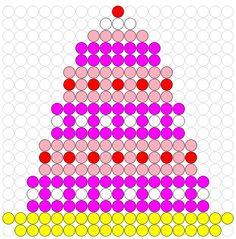 Kralenplank taart