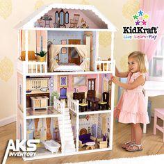 Marvelous The KidKraft Savannah Dollhouse.