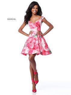 Check out the latest Sherri Hill 51793 dresses at prom dress stores authorized by the International Prom Association. Designer Prom Dresses, Pageant Dresses, Homecoming Dresses, Party Dresses, Cheap Formal Gowns, Formal Dresses, Sherri Hill Short Dresses, Prom Dress Stores, Sweet Dress
