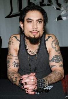 Dave Navarro- he has experienced terrible pain and has a unique perspective