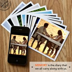 Memory is the diary that we all carry about with us.
