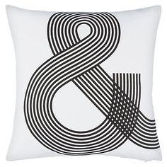 Buy John Lewis Ampersand Cushion Online at johnlewis.com