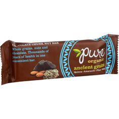 Pure Organic Ancient Grains Bar - Organic - Chocolate Chunk Nut - 1.23 Oz Bars - Case Of 12