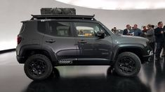Check out all 7 2018 Easter Jeep Safari concepts, from a super tasty Wagoneer restomod to Jeep's take on the G-Wagen Mopar Jeep, Jeep 4x4, Jeep Truck, Accesorios Jeep Renegade, Mercedes Benz, Easter Jeep Safari, Jeep Concept, Jeep Baby, Crate Motors