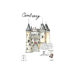 Illustrations ❤ liked on Polyvore featuring fillers, drawings, backgrounds, buildings, illustration, doodle and scribble