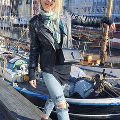 Kristina Krøvel København Leather Jacket, Purses, Photo And Video, Videos, Photos, Jackets, Image, Instagram, Fashion