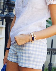 Gingham and linen