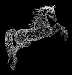 Twisted-Wire+Art | ElizabethBerrien · World Class Wire Sculpture and Illustration· (707 ...