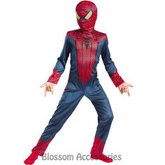 #Ck708 spider man spiderman #movie boys kids child super hero book week #costume,  View more on the LINK: http://www.zeppy.io/product/gb/2/391459540057/