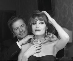Photographer Patrick Demarchelier captured Angelina Jolie and jewelry designer Robert Procop on the set of The Tourist.