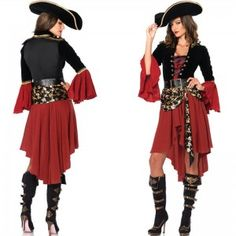 2015-new-halloween-cosplay-Costume-game-women-pirate-Cos-female-dress-0