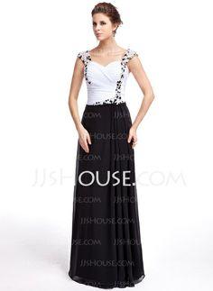 Evening Dresses - $152.99 - Sheath Sweetheart Floor-Length Chiffon Evening Dress With Ruffle Beading (017025335) http://jjshouse.com/Sheath-Sweetheart-Floor-Length-Chiffon-Evening-Dress-With-Ruffle-Beading-017025335-g25335?no_banner=1_source=facebook_medium=post_campaign=6005941673279_content=130731J_9
