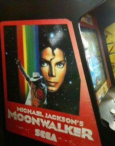Moonwalker Arcade Game