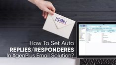 How To Set Auto Replies/ Response In XgenPlus Email Solution Unified Communications, Email Service Provider, Business Emails, Social Media Site, No Response, Videos, Text Posts, Video Clip