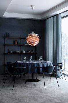 Louis Poulsen hanglamp PH Artichoke Koper door Poul Henningsen