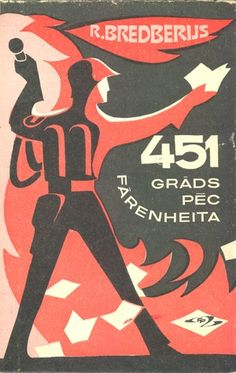 Latvian Edition of Fahrenheit 451.  Published by Zinātne in 1975.