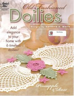 Old Fashioned Doiles - Shaina Nurse - Álbuns da web do Picasa.. A free book with 6 written doily patterns!!