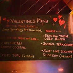 Love nights.. #jamrock #valentines #stockholm #meny #allahjärtansdag #mat #food