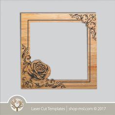 Product laser cut photo frames template, online laser cut design store. @ shop-msl.com Frame Template, Templates, Cut Photo, Kids Decor, Laser Cutting, Frames, Wall Art, Facebook, Store