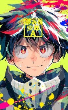 Boku no Hero Academia || Midoriya Izuku