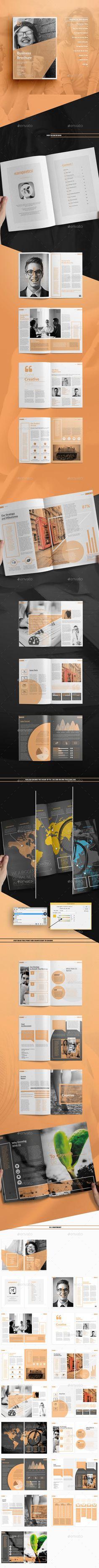 Brochure - Corporate Brochures Template Design - Download Here : http://graphicriver.net/item/brochure/13854635?s_rank=28&ref=yinkira