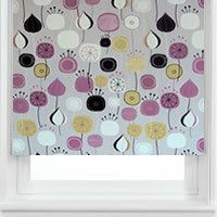 Balloon Race Lilac Printed Roller Blinds