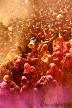 Happy Holi in Baldeo, India