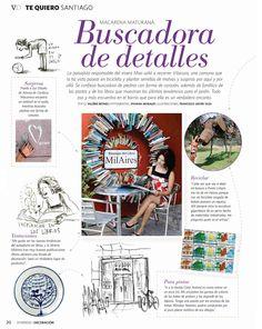 MilAires, recomendada  en el mercurio revista ED, 30 de Marzo, 2011. - MilAires, Boutique del Libro.