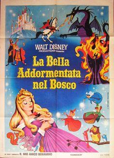 La bella addormentata nel bosco, terza edizione italiana, distr. CIC 1978